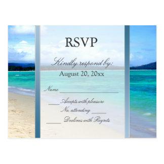 RSVP Destination Wedding Postcard