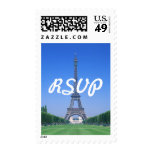 RSVP Eiffel Tower Stamp