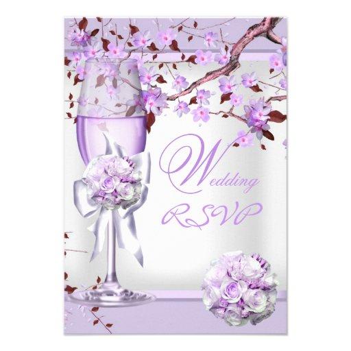 Lilac Weding Invitations 025 - Lilac Weding Invitations