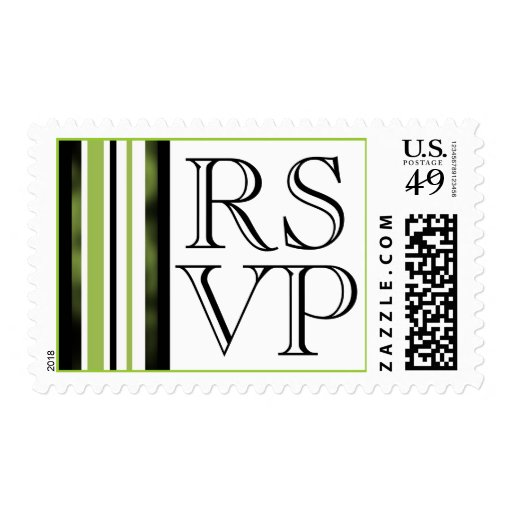 RSVP Event And Wedding Postage Stamp