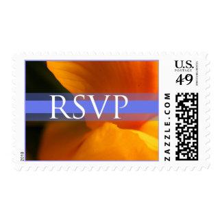 RSVP Event And Wedding Postage Stamp