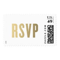 RSVP Faux Foil | Wedding Postage