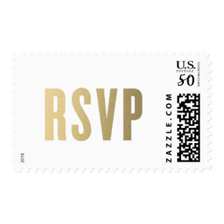RSVP Faux Foil | Wedding Postage