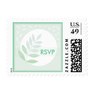 RSVP Fine Mint Green Stamp