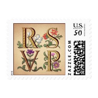 RSVP, Floral Postage