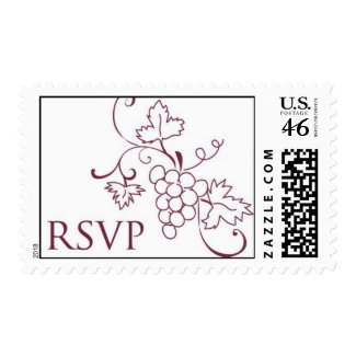 RSVP Grapevine postage stamp