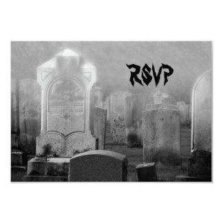 RSVP Haloween Wedding Card