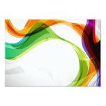 RSVP Hearts Double Infinity & Rainbow Ribbons - 3B Card