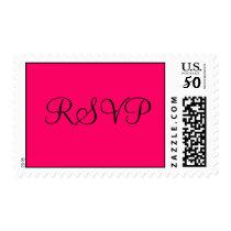 RSVP Hot Pink Postage Stamp