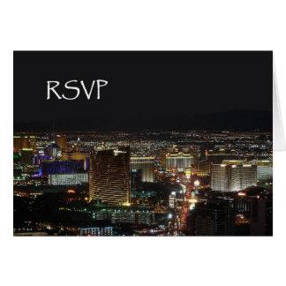 RSVP Las Vegas Card