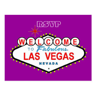 RSVP Las Vegas Postcard
