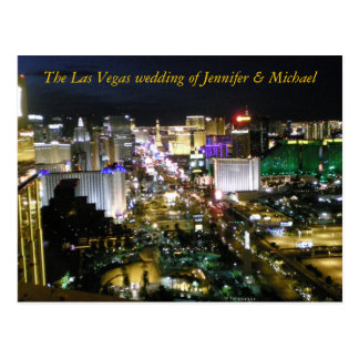 RSVP Las Vegas que casa respuesta de la huésped Postal
