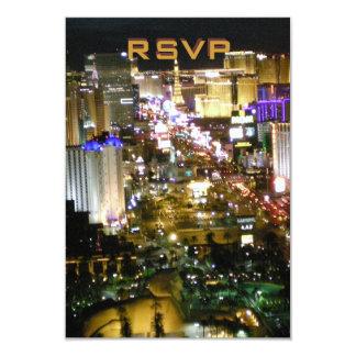 RSVP Las Vegas Wedding Reception Card