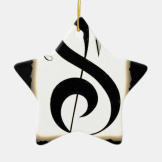 rsvp logo huge.jpg Double-Sided star ceramic christmas ornament