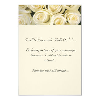 """RSVP Matches """"A Rose By Any Other Name"""" Card"""