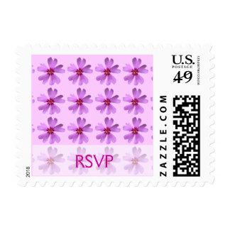 RSVP - modelo de flores - franqueo