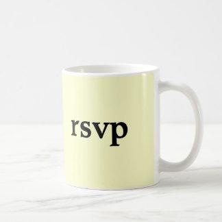rsvp coffee mugs