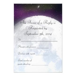 RSVP para el boda temático del espacio Invitaciones Personales