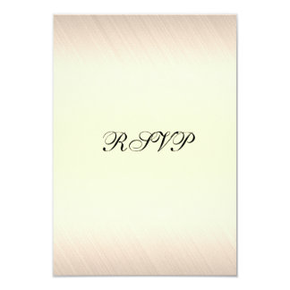 RSVP Party Event Ivory White Black Card
