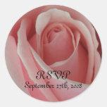 RSVP Pink Rose Sticker