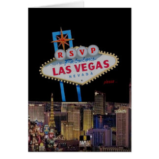 RSVP please... Las Vegas Card