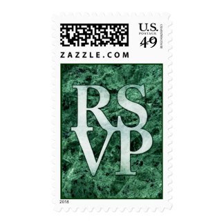 "RSVP ""Please Respond"" Wedding Invitation Postage"
