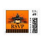 RSVP Postage - Halloween Love