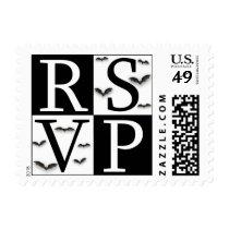 RSVP Postage Stamp - Halloween