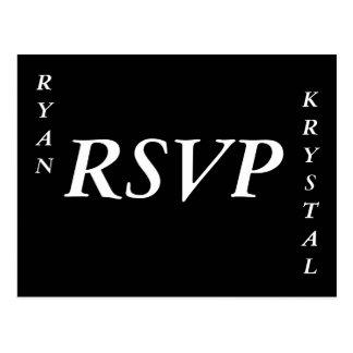 RSVP POSTCARD
