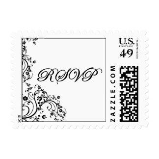 RSVP Postcard Postage Stamp