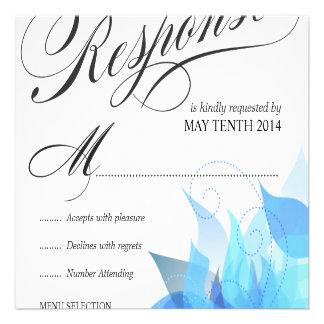 RSVP que se casa de lujo para las invitaciones gra Invitacion Personal