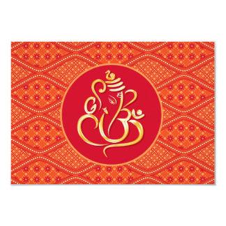 RSVP que se casa indio Invitación 8,9 X 12,7 Cm