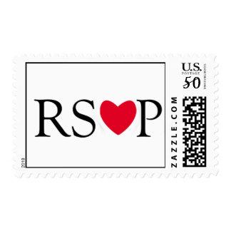 RSVP Red Heart Stamp