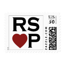RSVP Red Heart Stamps