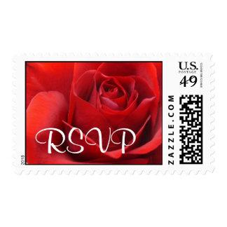 RSVP Red Rose Postage
