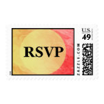 RSVP Red Yellow Texture Design Stamps
