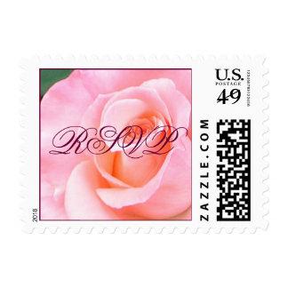 RSVP Rose Small Stamp
