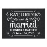 RSVP Rustic Black Burlap Wedding Reply Personalized Invite