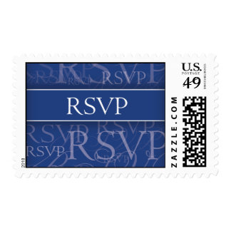 RSVP Sapphire Postage Stamps