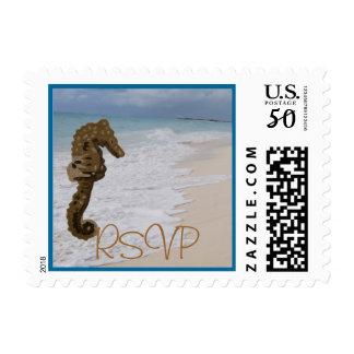 RSVP Seahorse Postage