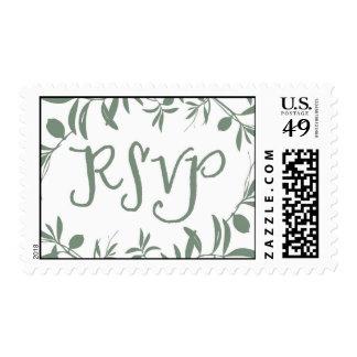 RSVP Stamp - Sage