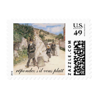 RSVP, The Wedding March by Robinson Postage