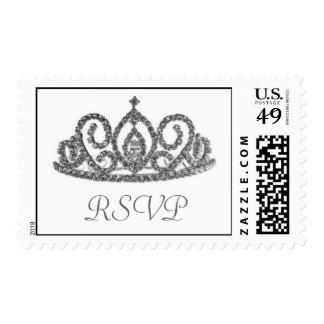 RSVP/Tiara Stamp