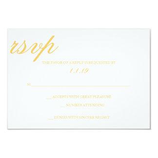 RSVP | Together 3.5x5 Paper Invitation Card