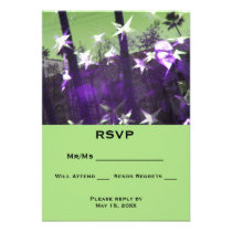 RSVP  Trees and Stars Abstract Card