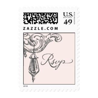 RSVP Vintage crystal Postage Stamps