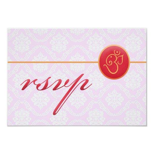 RSVP Wedding Indian Style Card