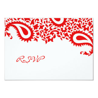 RSVP Wedding Indian Style Card