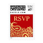 RSVP Wedding Indian Style Small Postage