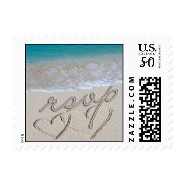 EverAfter RSVP Wedding Invitation Postage Stamp